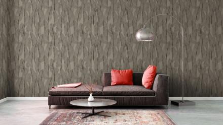 Vinyltapete braun Modern Landhaus Blumen & Natur Exotic Life 976