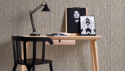 Vinyltapete braun Modern Klassisch Holz Authentic Walls 2 731