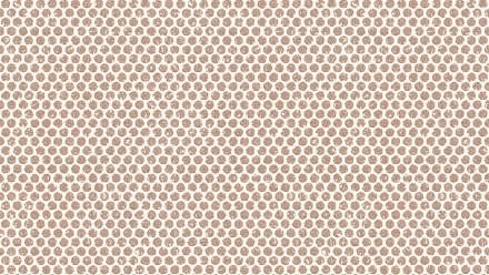 Vinyltapete braun Modern Klassisch Punkte Designdschungel 2 by Laura N. 762