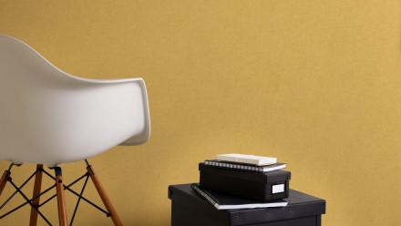 Vinyltapete gelb Modern Klassisch Uni Colibri 288