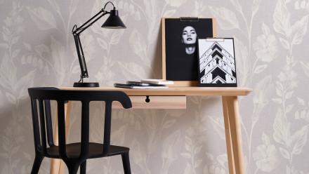 Vinyltapete lila Modern Landhaus Blumen & Natur Linen Style 361