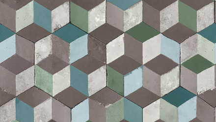 Vinyltapete grün Modern Ornamente Authentic Walls 2 621