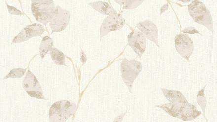 Vinyltapete beige Modern Landhaus Blumen & Natur Flavour 871
