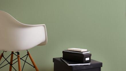 Vinyltapete grün Modern Uni Flavour 886