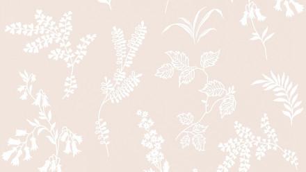 Papiertapete creme Modern Blumen & Natur Flavour 931