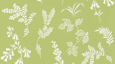 Papiertapete grün Modern Blumen & Natur Flavour 935