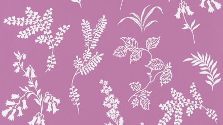 Papiertapete lila Modern Blumen & Natur Flavour 936