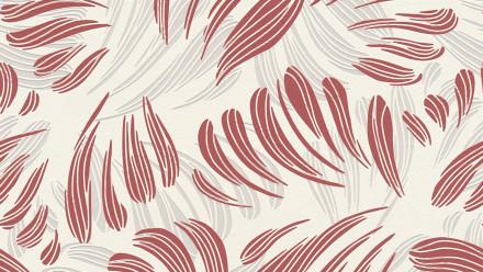 Vinyltapete rot Modern Landhaus Blumen & Natur Flavour 034