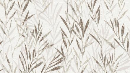 Vinyltapete braun Modern Landhaus Blumen & Natur Flavour 124