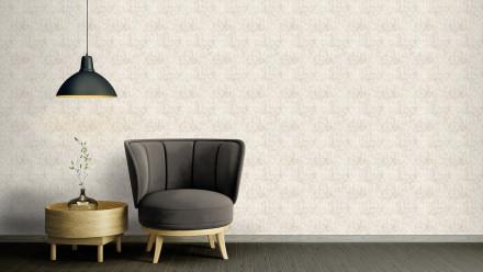 Vinyltapete Strukturtapete grau Modern Ornamente Streifen Character 711