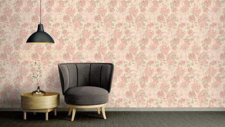 Vinyltapete rosa Modern Uni Character 724