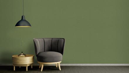 Vinyltapete grün Modern Klassisch Uni Character 773