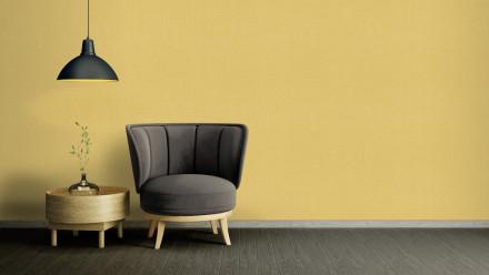 Vinyltapete gelb Modern Klassisch Uni Character 777