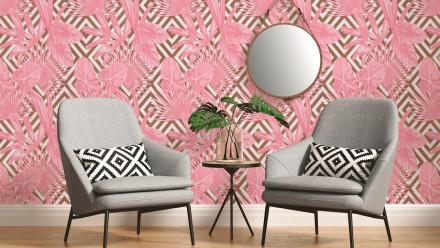 Vinyltapete rosa Modern Blumen & Natur Bilder Il Decoro 111