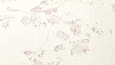 Vinyltapete Metropolitan Stories Lola - Paris Living Landhausstil Walls Blumenranken Lila Weiß 961