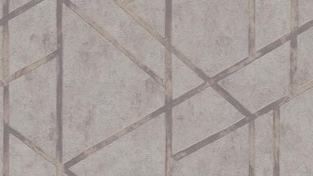 Vinyltapete Metropolitan Stories Francesca - Milano Livingwalls Modern Grau Metallic 282