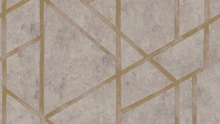 Vinyltapete Metropolitan Stories Francesca - Milano Livingwalls Modern Beige Grau Metallic 283