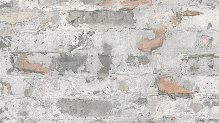 Vinyltapete Metropolitan Stories Paul Bergmann - Berlin Livingwalls Steinwand Grau Schwarz Weiß 292