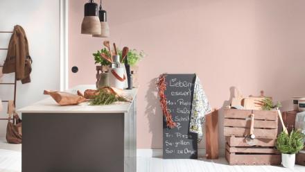 Vinyltapete rosa Klassisch Uni Trendwall 611