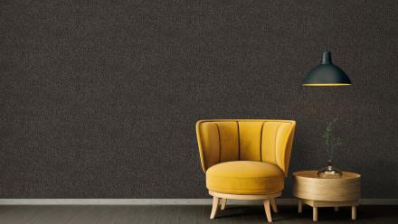 Vinyltapete Absolutely Chic Architects Paper Modern Unifarben Metallic Schwarz 702