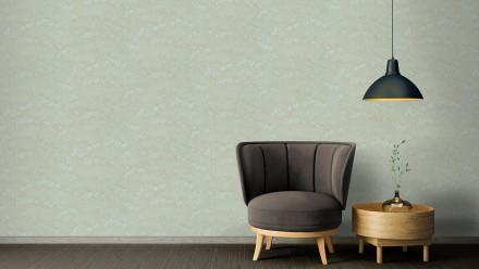 Vinyltapete Absolutely Chic Architects Paper Modern Natur Metallic Blau Grün 722
