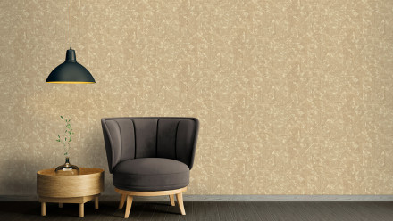 Vinyltapete Absolutely Chic Architects Paper Modern Unifarben Beige Braun Metallic 745