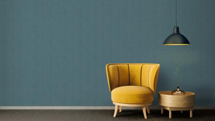 Vinyltapete Absolutely Chic Architects Paper Modern Blau Metallic 763