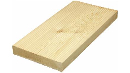 TerraWood Holzterrasse - LÄRCHE sibirisch 26 x 143 x 4000mm beidseitig gerillt