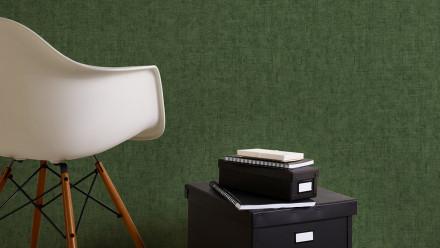 Vinyltapete grün Modern Klassisch Uni Greenery 347