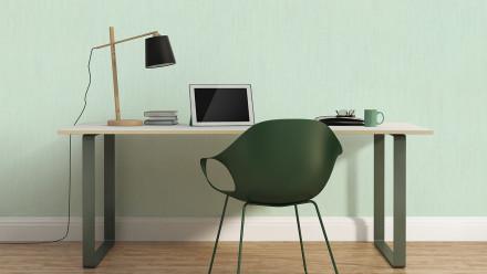Vinyltapete grün Modern Klassisch Uni Jette 5 372