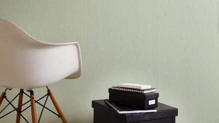 Vinyltapete grün Modern Klassisch Uni Sumatra 755