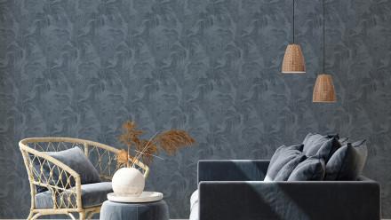 Vinyltapete New Walls Cosy & Relax Living Landhausstil Walls Blau 965