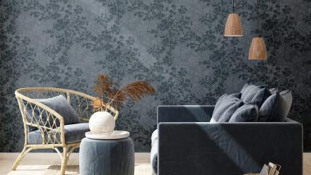 Vinyltapete New Walls Cosy & Relax Living Landhausstil Walls Blau 974