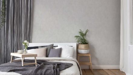 Vinyltapete grau Modern Klassisch Uni New Walls 183