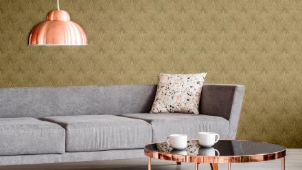 Vinyltapete New Walls 50's Glam Livingwalls Modern Metallic Braun Beige 272
