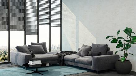 Vinyltapete New Walls Loft Living Livingwalls Betonoptik Creme Weiß 294