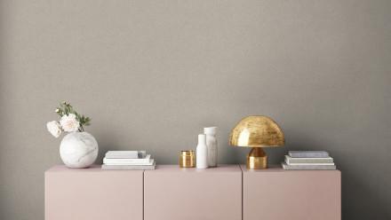 Vinyltapete New Walls Uni Livingwalls Grau Beige 308