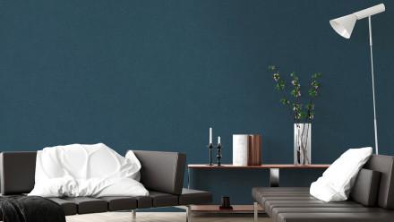 Vinyltapete New Walls Uni Livingwalls Blau 315