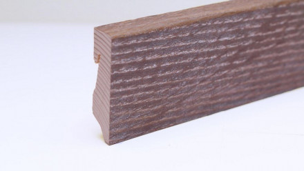 planeo Sockelleiste - Eiche 405 moccabraun gekälkt - 16 x 58 mm