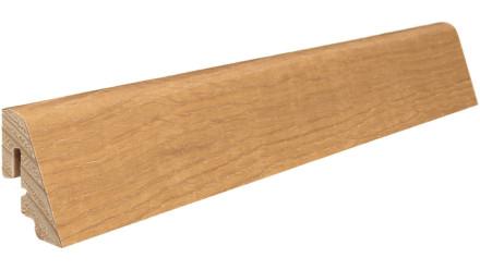 Haro Sockelleisten - Massivholz-Leisten - versiegelt |19 x 39 mm - Eiche