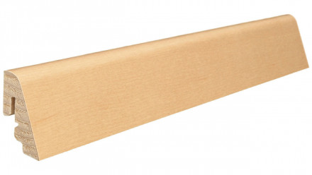 Haro Sockelleisten - Massivholz-Leisten - versiegelt |19 x 39 mm - Ahorn