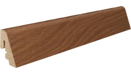 Haro Sockelleisten - Massivholz-Leisten - versiegelt |19 x 39 mm - Bernsteineiche