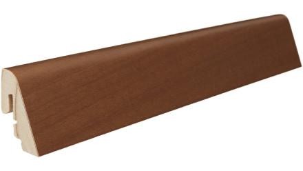 Haro Sockelleisten - Massivholz-Leisten - versiegelt |19 x 39 mm - Bernsteinrobinie