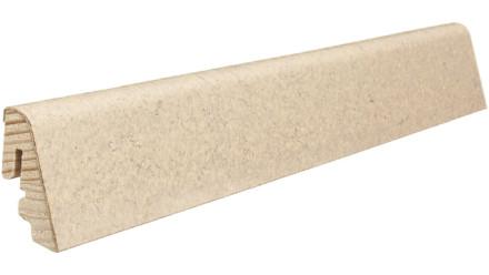 Haro Sockelleisten für Korkboden - 19 x 39 mm - Toledo/Sirio creme
