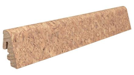 Haro Sockelleisten für Korkboden - 19 x 39 mm - Lagos/Ronda/Sirio/Cora natur