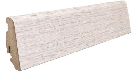 Haro Sockelleiste Eiche weiß gekalkt 19 x 58 mm