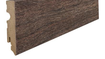 Haro Sockelleisten - 15 x 80mm - Eiche Kansas