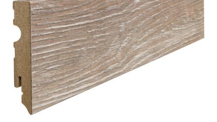 Haro Sockelleisten - 15 x 80mm - Eiche duna gekalkt