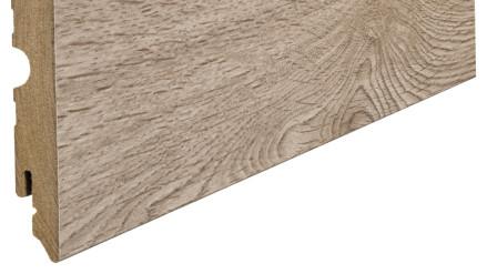 Haro Sockelleisten - 15 x 80mm - Eiche Contura sand