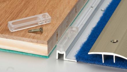 Prinz Erhöhungsblock PS 400 PEP sahara / Edelstahl matt für Belagsstärken bis 18mm